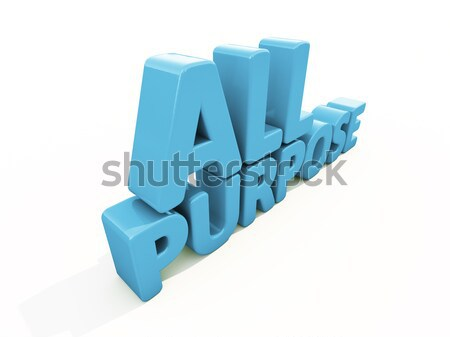 Stockfoto: 3D · woord · gratis · icon · witte · 3d · illustration