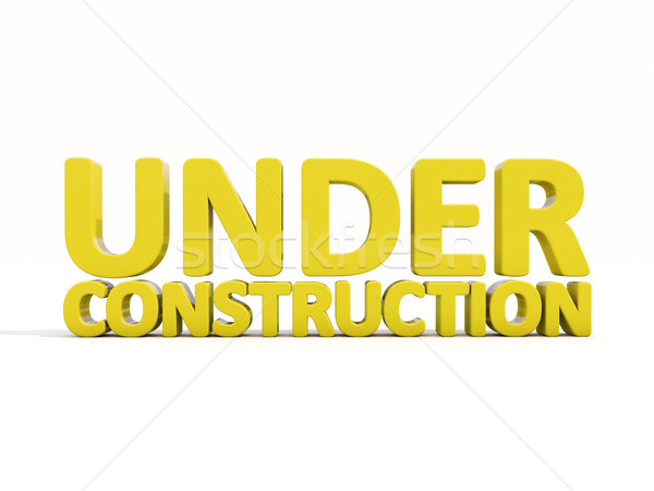 Under construction Stock photo © Supertrooper