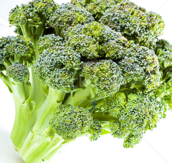 Сurd. Broccoli closeup Stock photo © Supertrooper
