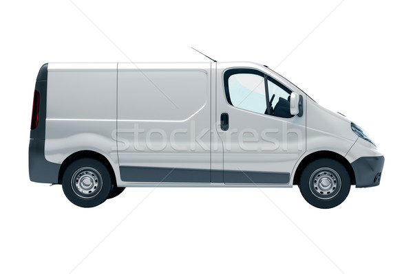 Commercial vehicle Stock photo © Supertrooper