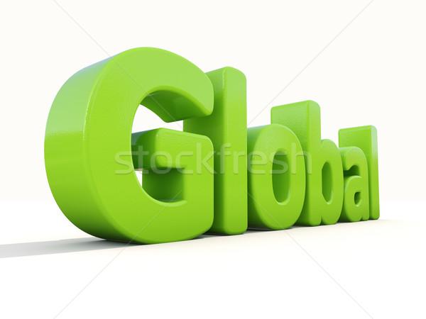 Global Stock photo © Supertrooper