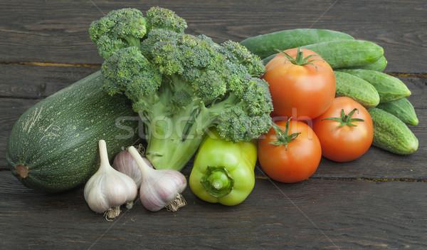 Stock photo: Still life vegetables