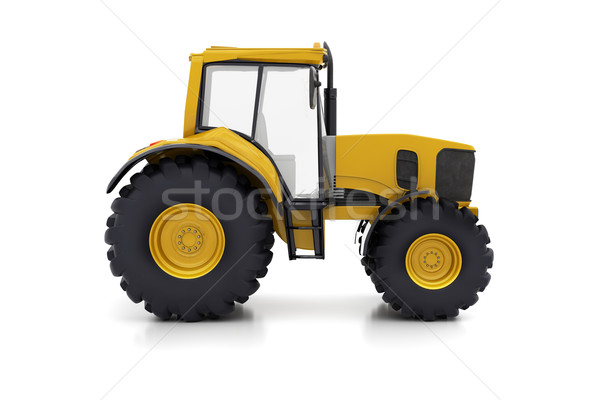 Farm tractor Stock photo © Supertrooper