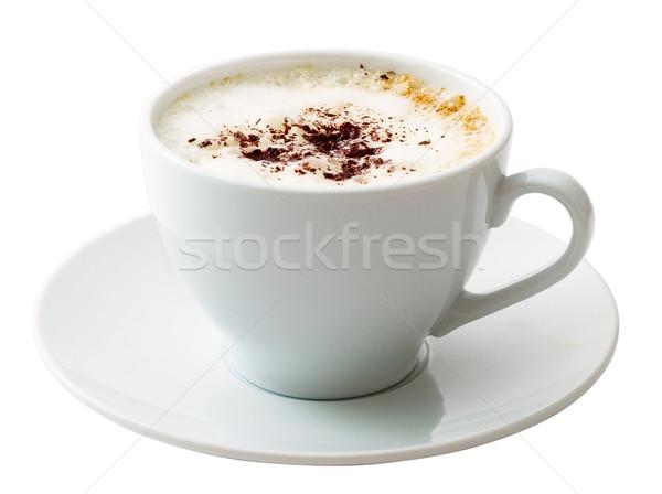 Bianco mug caffè isolato bere Foto d'archivio © Supertrooper