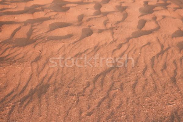 Areia textura areia da praia praia mar Foto stock © Supertrooper