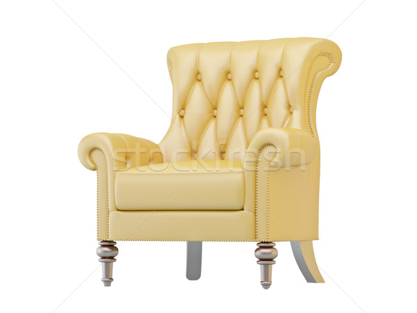 Luxurious armchair isolated Stock photo © Supertrooper