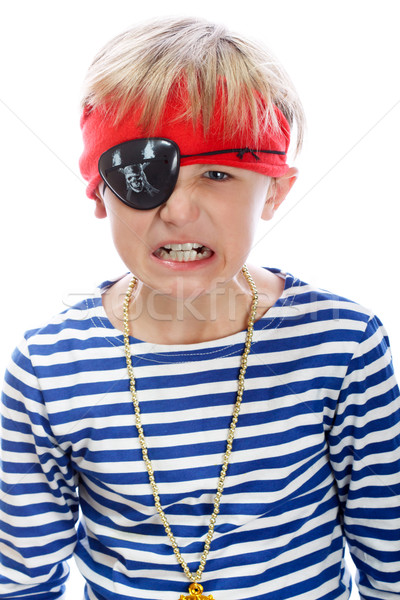 Angry pirate Stock photo © Supertrooper