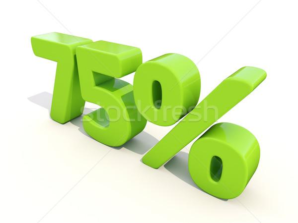 процент икона белый пять процент Сток-фото © Supertrooper