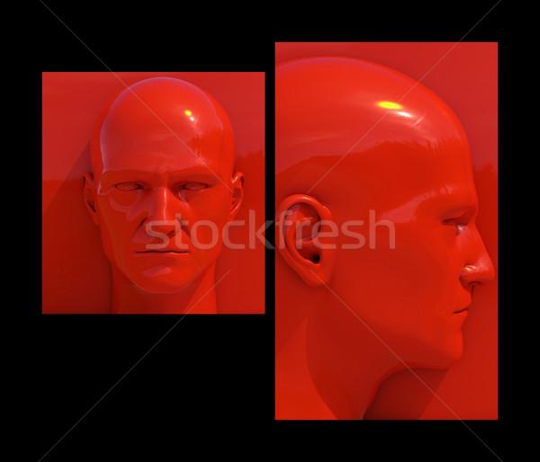 Stockfoto: Pop · art · realistisch · verschillend · gekleurd · achtergronden