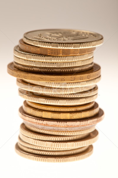 Stack of coins Stock photo © Supertrooper