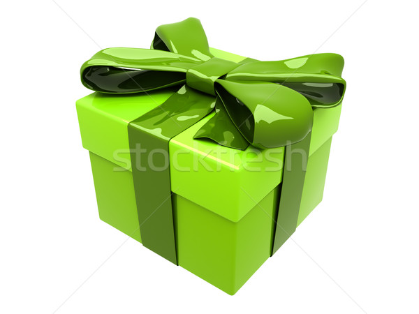 Gift box Stock photo © Supertrooper