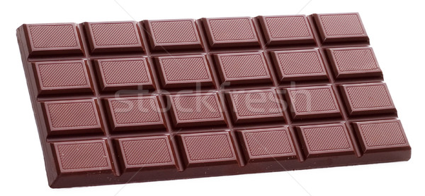 Chocolate bar isolated Stock photo © Supertrooper