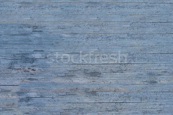 Velho azul pintado superfície pintar Foto stock © Supertrooper