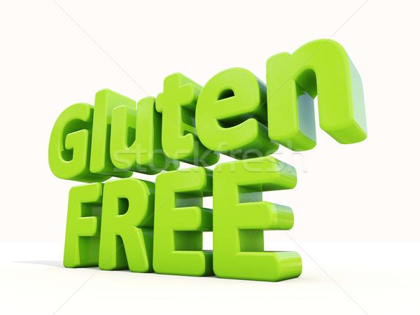 3d Gluten Free Stock photo © Supertrooper