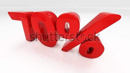 3D seventy percent Stock photo © Supertrooper