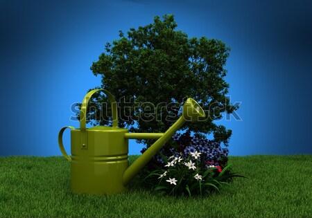 Garden tillage Stock photo © Supertrooper