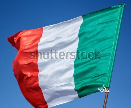 Flag of Italy Stock photo © Supertrooper