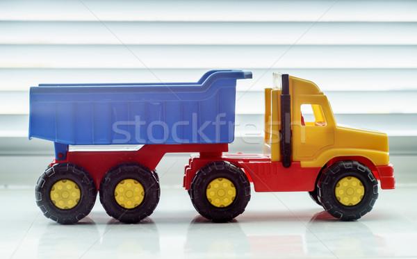 Photo stock: Jouet · camion · industrielle · véhicule · plastique