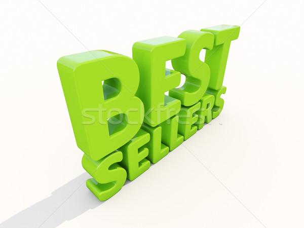 3D best icon witte 3d illustration business Stockfoto © Supertrooper