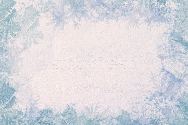 Winter frame Stock photo © Supertrooper