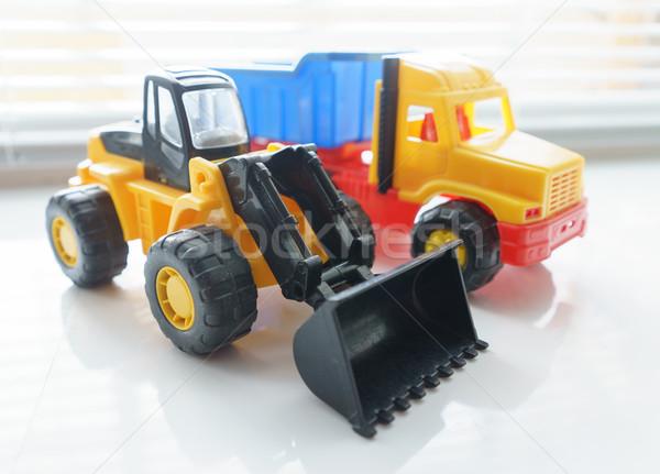 Photo stock: Jouet · roue · camion · industrielle · véhicule