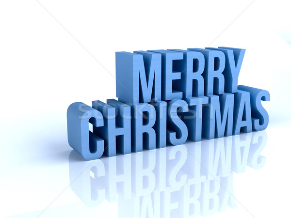 Merry Christmas Stock photo © Supertrooper