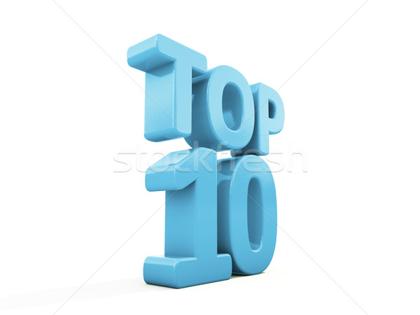 Stock photo: 3d Top