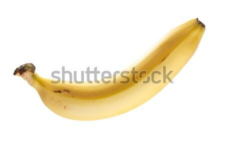 Ripe banana isolated Stock photo © Supertrooper