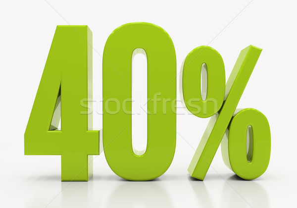 3D percent Stock photo © Supertrooper