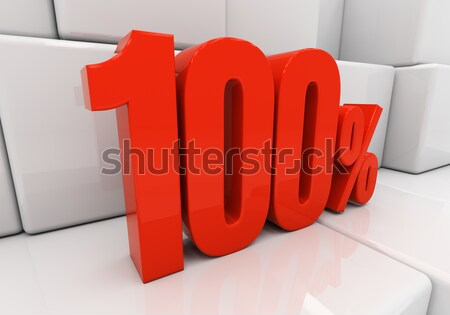 3D 100 percent Stock photo © Supertrooper