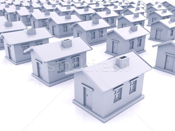 Many houses Stock photo © Supertrooper