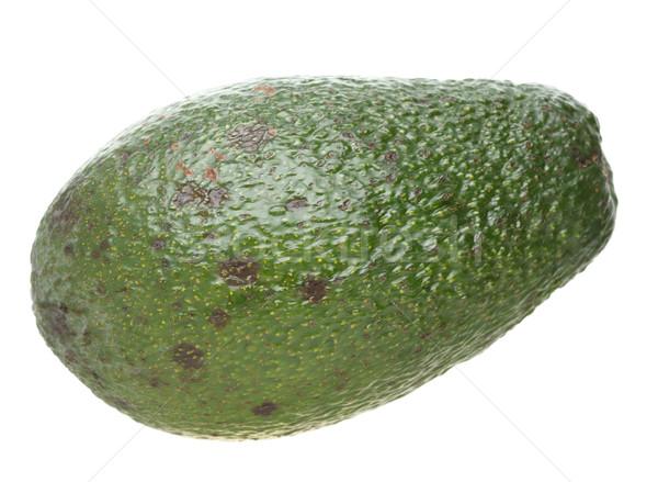 Avocado isolated on white Stock photo © Supertrooper