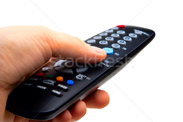 TV remote Stock photo © Supertrooper
