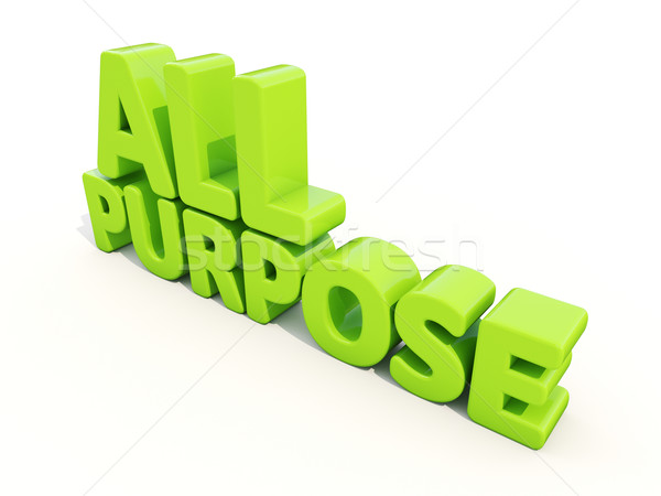 3d All Purpose Stock photo © Supertrooper