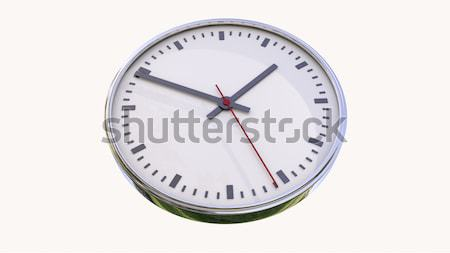 Clock isolated Stock photo © Supertrooper