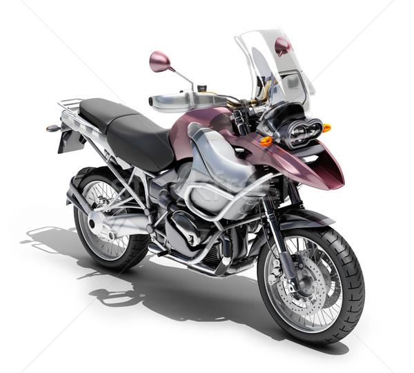 мотоцикл свет спортивных скорости движения Сток-фото © Supertrooper