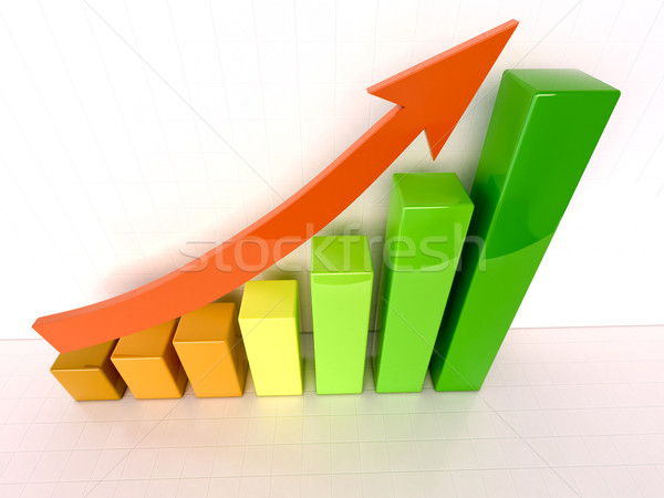 Stock photo: Increased growth