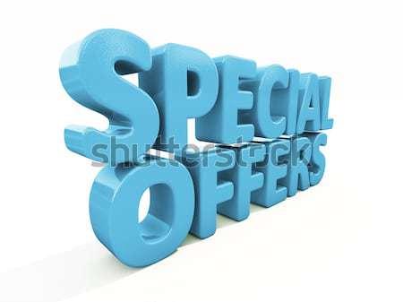 3D szavak szabad ikon fehér 3d illusztráció Stock fotó © Supertrooper