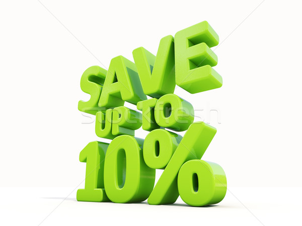 Save up to 10% Stock photo © Supertrooper