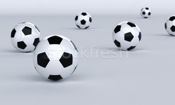 футбола ярко мелкий Футбол спорт спортивных Сток-фото © Supertrooper
