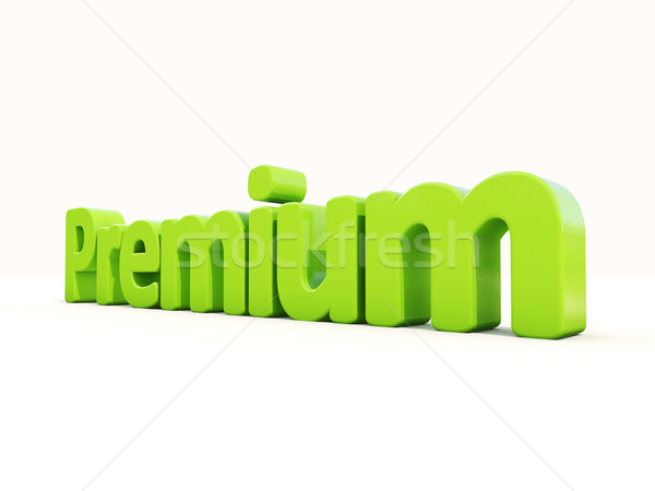 3d word premium Stock photo © Supertrooper