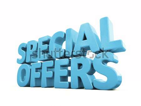 3d Special offers Stock photo © Supertrooper