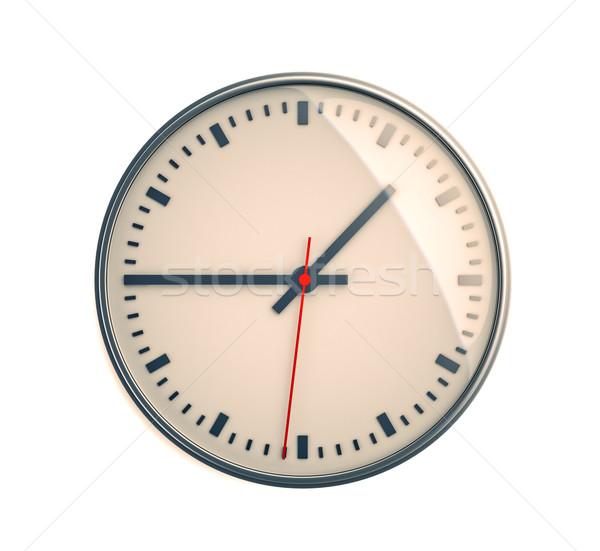 Clock luce comporre primo piano 3D immagine Foto d'archivio © Supertrooper