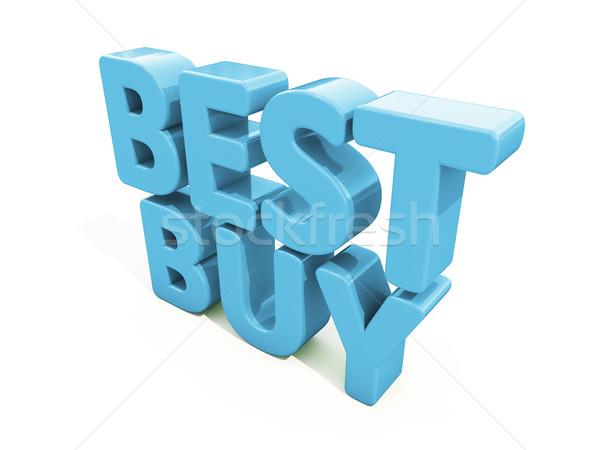 3d Best Buy Stock photo © Supertrooper