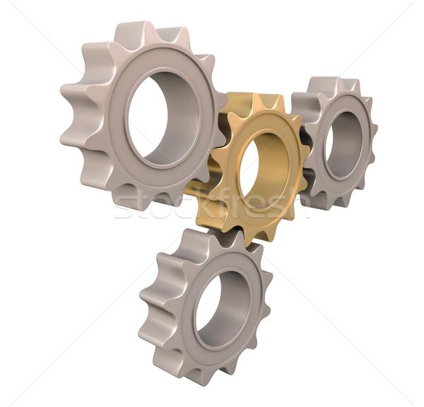 Stock photo: Pinion gear