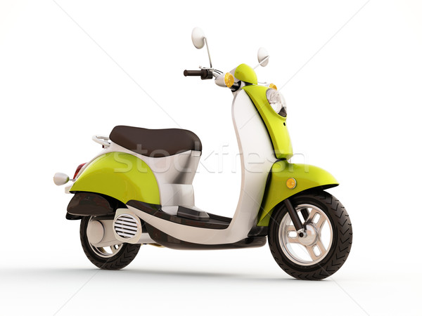 Classic scooter Stock photo © Supertrooper