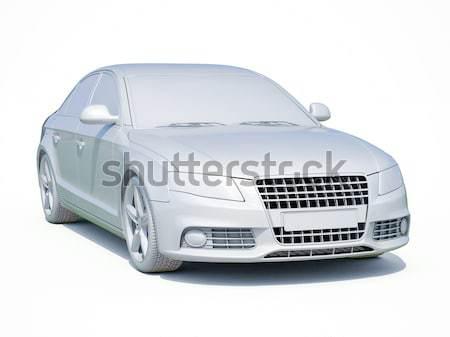 Modern luxury car Stock photo © Supertrooper