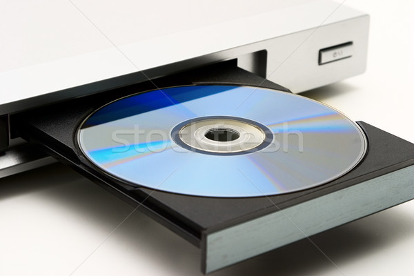 Disk drive in DVD player Stock photo © Supertrooper
