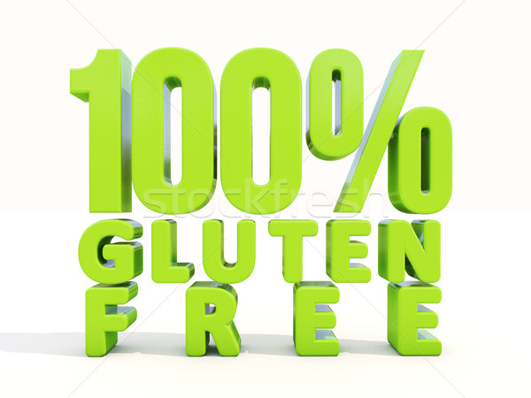 3d Gluten Free Stock photo © Supertrooper