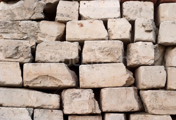 Brisé briques designer cohérence Photo stock © Supertrooper